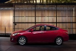 2012 Hyundai Accent GLS Sedan in Boston Red - Static Side View
