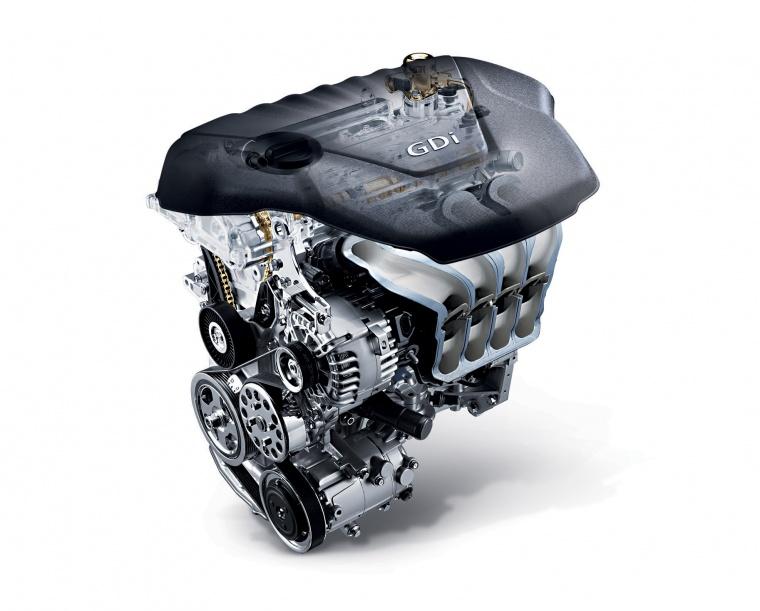 2013 Hyundai Accent GLS Sedan 1.6-liter 4-cylinder Engine Picture