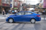 2013 Hyundai Accent GLS Sedan in Marathon Blue - Driving Side View