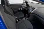 2013 Hyundai Accent Hatchback Front Seats