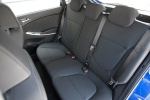 2013 Hyundai Accent Hatchback Rear Seats