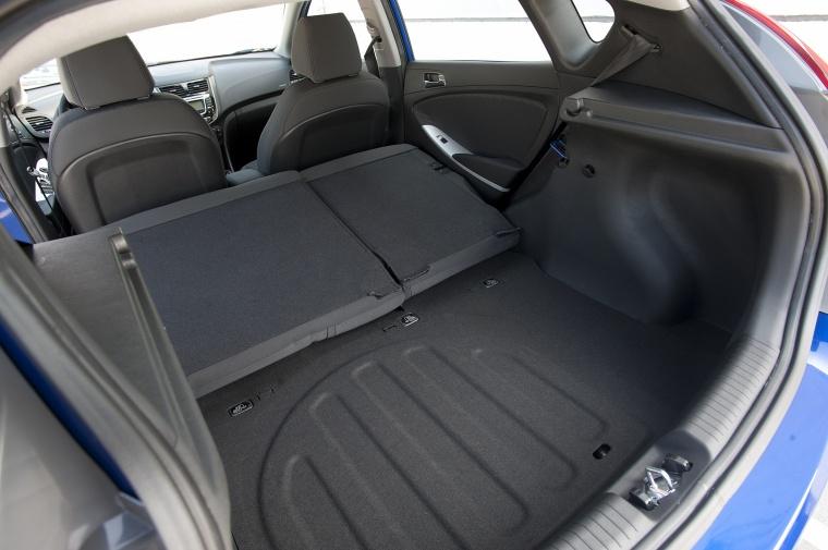 2014 Hyundai Accent Hatchback Trunk Picture