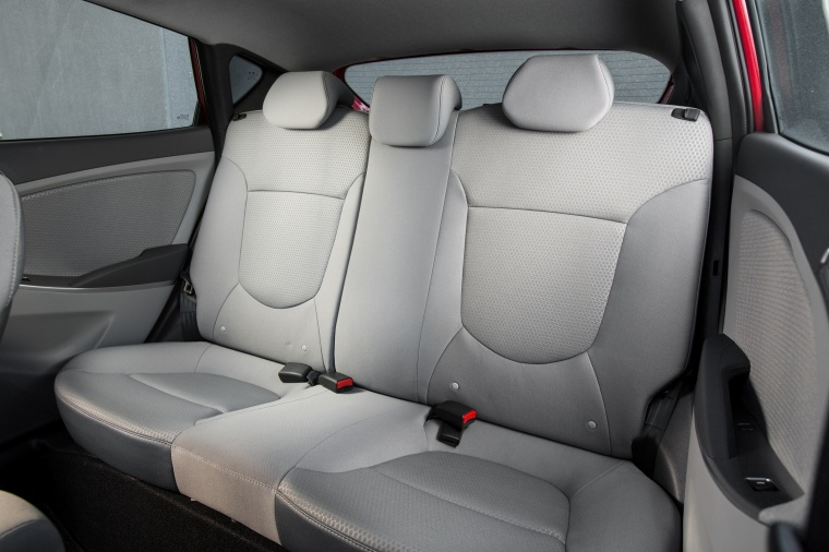 2017 Hyundai Accent Hatchback Rear Seats Picture