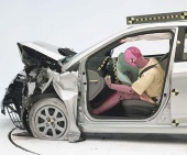 2017 Hyundai Accent Sedan IIHS Frontal Impact Crash Test Picture