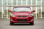 2017 Hyundai Accent Hatchback in Boston Red Metallic - Static Frontal View