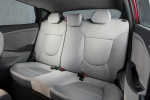 2017 Hyundai Accent Hatchback Rear Seats