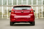 2017 Hyundai Accent Hatchback in Boston Red Metallic - Static Rear View