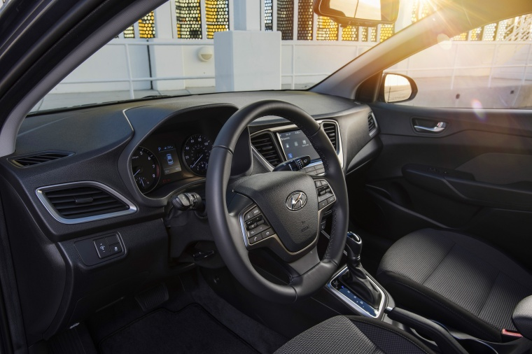 2018 Hyundai Accent Sedan Interior Picture