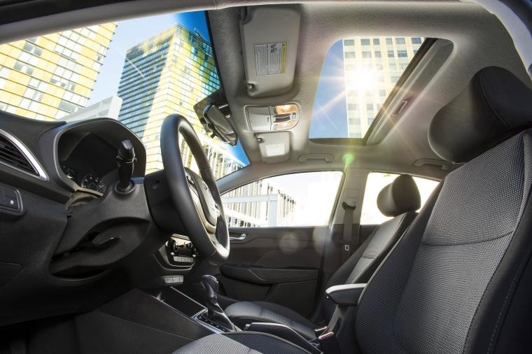2018 Hyundai Accent Sedan Front Seats Picture