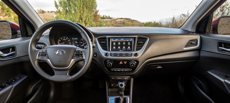 2018 Hyundai Accent Sedan Cockpit Picture