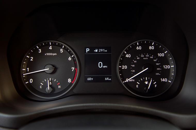 2018 Hyundai Accent Sedan Gauges Picture
