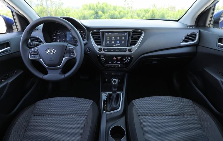 2018 Hyundai Accent Sedan Cockpit Picture