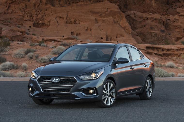 2018 Hyundai Accent Sedan Picture