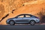 2018 Hyundai Accent Sedan in Urban Gray - Static Left Side View