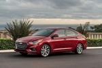 Picture of 2018 Hyundai Accent Sedan in Pomegranate Red