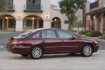 2010 Hyundai Azera Limited in Crimson Red Pearl Mica - Static Right Side View