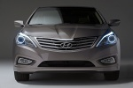 2012 Hyundai Azera in Bronze Mist Metallic - Static Frontal View