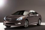2012 Hyundai Azera in Bronze Mist Metallic - Static Front Left Three-quarter View