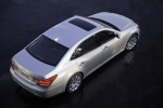 2012 Hyundai Equus in Platinum Metallic - Static Rear Right Three-quarter Top View