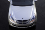 2012 Hyundai Equus in Platinum Metallic - Static Frontal Top View