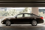 2015 Hyundai Equus Sedan in Night Shadow Brown - Static Side View