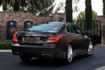 2016 Hyundai Equus Sedan in Night Shadow Brown - Static Rear Right View