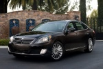 2016 Hyundai Equus Sedan in Night Shadow Brown - Static Front Left Three-quarter View
