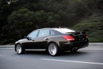 2016 Hyundai Equus Sedan in Night Shadow Brown - Driving Rear Left Three-quarter View