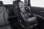Picture of 2020 Hyundai Palisade Second Row with Child Seat in Black