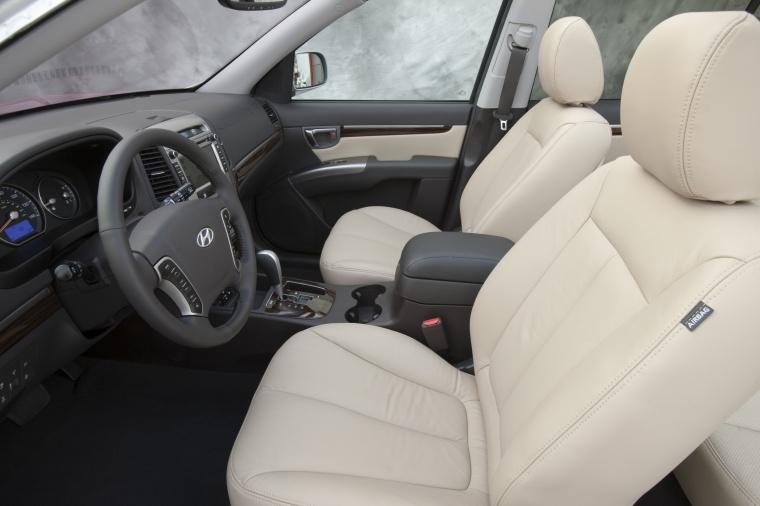 2010 Hyundai Santa Fe Front Seats Picture