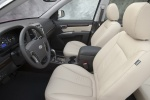 Picture of 2010 Hyundai Santa Fe Front Seats
