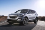 2014 Hyundai Santa Fe Sport in Moonstone Silver - Static Front Left View