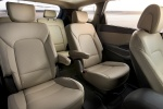Picture of 2015 Hyundai Santa Fe Rear Seats in Beige