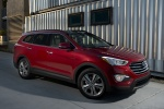 2015 Hyundai Santa Fe in Regal Red Pearl - Static Front Right Three-quarter View