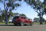2016 Hyundai Santa Fe in Regal Red Pearl - Static Rear Right Three-quarter View
