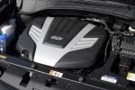 Picture of a 2016 Hyundai Santa Fe's 3.3-liter V6 Engine