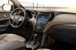 Picture of a 2016 Hyundai Santa Fe's Cockpit in Beige