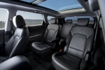 2016 Hyundai Santa Fe Rear Seats in Black