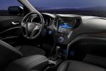 Picture of a 2016 Hyundai Santa Fe Sport's Cockpit in Black