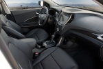 Picture of a 2016 Hyundai Santa Fe Sport's Front Seats in Black