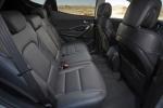 Picture of a 2016 Hyundai Santa Fe Sport's Rear Seats in Black