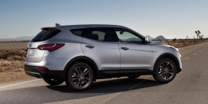 Research the Hyundai Santa Fe