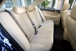 2010 Hyundai Sonata Rear Seats in Camel