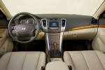 Picture of 2010 Hyundai Sonata Cockpit in Camel