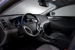 Picture of 2012 Hyundai Sonata Hybrid Interior in Gray