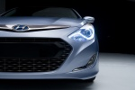 Picture of 2013 Hyundai Sonata Hybrid Headlight