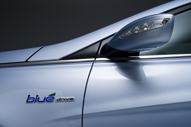 2014 Hyundai Sonata Hybrid Door Mirror Picture