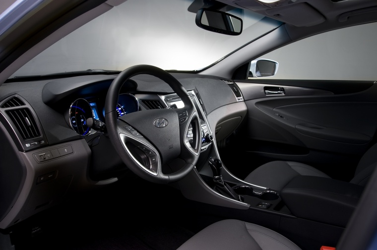 2014 Hyundai Sonata Hybrid Interior Picture