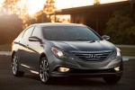2014 Hyundai Sonata 2.0T Limited in Harbor Gray Metallic - Static Front Right View