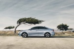 2014 Hyundai Sonata Hybrid in Blue Sky Metallic - Static Side View